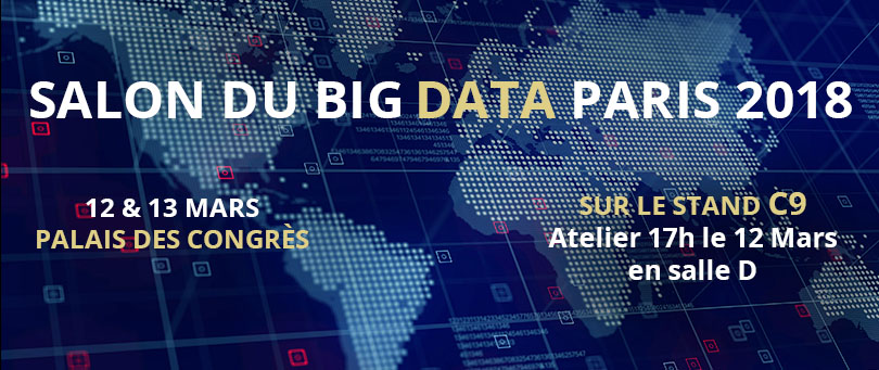 Suadeo au salon du BIG DATA à Paris le 12 & 13 Mars 2018